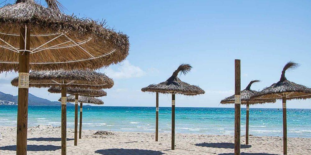 Parasole plażowe naMajorce