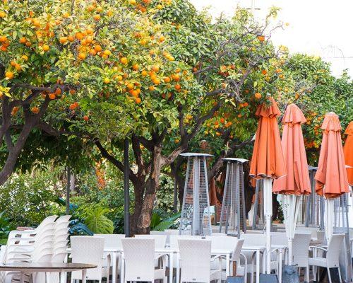 Marbella, Plac Pomarańczy
