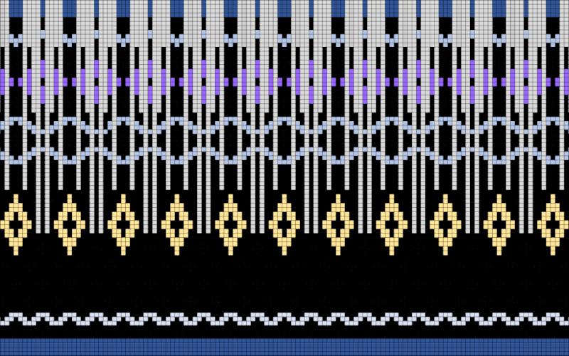 sweter-z-karczkiem-wzor