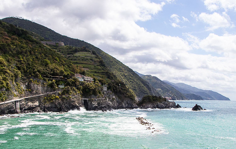 Ścieżka zMonterosso al Mare doVernazzy